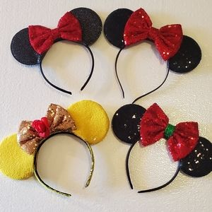 Minnie Mouse Set of 4 Ears